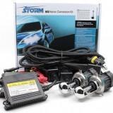 Kit Bi-Xenon Economic, H4, HB1 (9004), HB5 (9007) balast SLIM digital, 35W, 12V - Kit Xenon