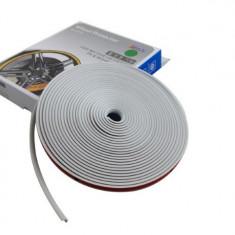 Inele protectie si decor jante, adezive, din plastic flexibil - GRI