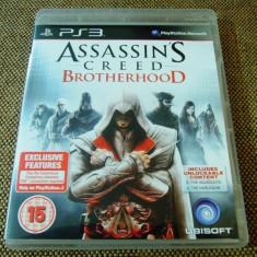 Joc Assassin's Creed Brotherhood original, PS3! - Jocuri PS3 Ubisoft, Actiune, 18+, Single player