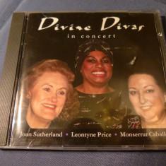 Divine Divas in Concert - Muzica Opera Altele, CD
