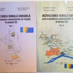 DEZVOLTAREA RURALA DURABILA PRIN EXPLOATAREA AMENAJARILOR DE IRIGATII IN JUDETUL OLT, VOL I - II, 2006 - Carte Geografie