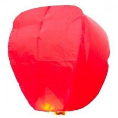Lampioane zburatoare sky lanterns diferite culori - Rosu