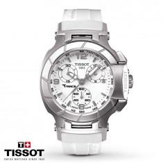 Ceas Tissot T-Race lady White Chronograph NOU !!!