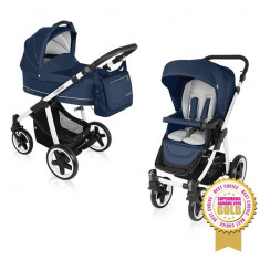 Baby design lupo comfort 03 navy 2016 - carucior multifunctional 2 in 1 - Carucior copii 2 in 1