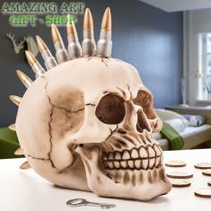 Pusculita craniu - Jucarie de colectie
