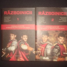 RAZBOINICII antologie coordonata de George R. R. Martin si Gardner Dozois 2 vol.