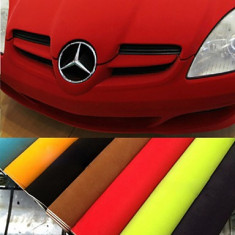 Folie colantare auto CATIFEA pentru ornamente (50cm x 1, 37m) - Ornament Auto