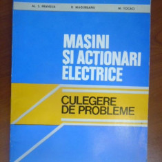 Masini si actionari electrice - Carti Electronica