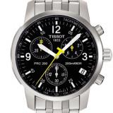 Ceas Tissot Prc200 Chronograph Black - Ceas barbatesc Tissot, Casual, Quartz, Inox, Cronograf