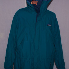 Geaca tehnica de barbati PATAGONIA outdoors / munte marimea L culoarea turcoaz - Geaca barbati, Marime: L, Nylon