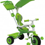 Tricicleta verde Luxury 3 in 1 TRIKE STAR - Tricicleta copii