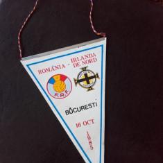 Fanion Handbal Romania Irlanda de Nord 16 octombrie 1985 Bucuresti