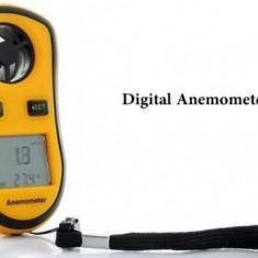 Anemometru instrument care masoara viteza vantului + Termometru Digital cu LCD