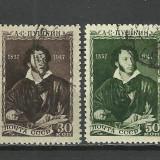 SERIE RUSIA 1947, Stampilat