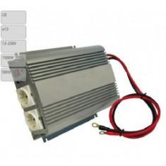Invertor de tensiune auto Carpoint 12V-230V 1500W 50Hz cu protectii la supra-sarcina baterie descarcata supravoltaj scurt-circuit - Invertor Auto