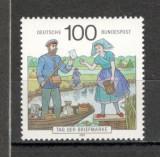 Germania.1991 Ziua marcii postale SG.714, Nestampilat