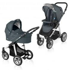 Baby design lupo 17 grafit 2015 - cărucior multifuncţional 2 in 1