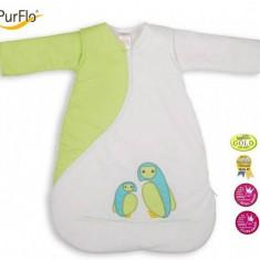 Sac de dormit PurFlo, brodat 3-9 luni (70 cm) - Sac de dormit copii