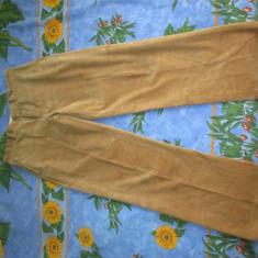 Pantaloni Velur\Raiati Polo by Ralph Lauren Marimea 32-34 Noi, poze reale - Pantaloni barbati, Culoare: Bej, Lungi, Reiat