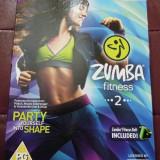 Zumba Fitness 2(include centura), pentru Wii, original, alte sute de jocuri - Jocuri WII Altele, Sporturi, 3+, Single player