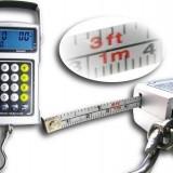 Cantar Electronic Digital Multifunctional cu Calculator, Ceas, Ruleta