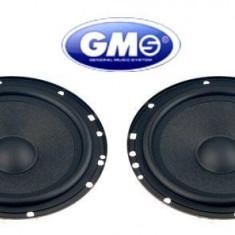 Set difuzoare auto GMS, 165 mm, 100W - Boxa auto, 81-120W