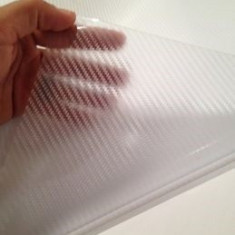 Folie colantare auto Carbon 3D, TRANSPARENT (1m x 1, 50m) - Folie Auto