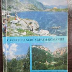 Carpatii si Subcarpatii Romaniei - Carte Geografie