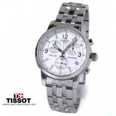 Ceas Tissot Prc200 Chronograph White Edition