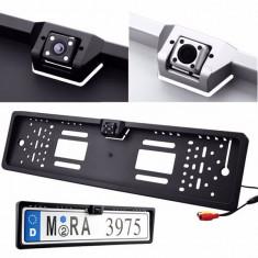 Suport numar cu camera marsarier, functie Night Vision - Suport numar Auto