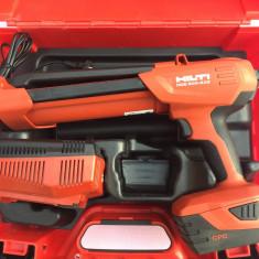 Set Pistol ancore, silicon HILTI HDE 500 A22 nou din 2016 5, 2 Ah