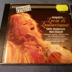 Donizetti - Lucia de Lammermor - Muzica Opera Altele, CD