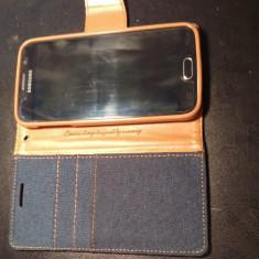 Vand Smartphone Samsung S6 - Telefon mobil Samsung Galaxy S6, Negru, 32GB, Orange
