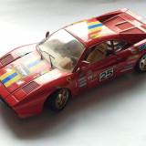 FERRARI GTO 1984-MACHETA BURAGO SCARA 1/18-MADE IN ITALY-ROG CITITI DESCRIEREA