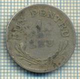 7650 MONEDA- ROMANIA - 1 LEU - anul 1924  -starea ce se vede