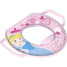 Reductor WC captusit cu manere Princess Lulabi 8019500 Roz - Olita