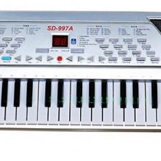 Orga SD997A 54 taste multiple functii, inregistrare, microfon, alimentator 220v.