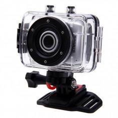 Camera video sport, subacvatica, HD + kit accesorii - Camera Video Actiune, Card de memorie