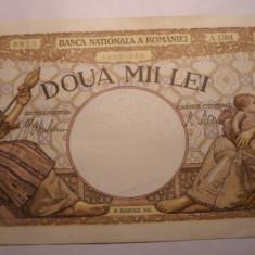 2000 lei 1941 XF - Bancnota romaneasca