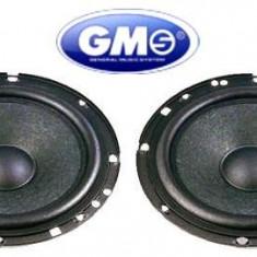 Set difuzoare auto GMS, 165 mm, 120W - Boxa auto, 81-120W