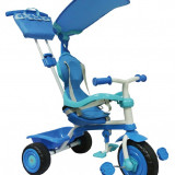 Tricicleta albastru Luxury 3 in 1 TRIKE STAR - Tricicleta copii