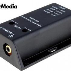 Convertor nivel semnal - STEREO - Conectica auto