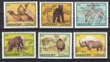 Manama 1969  fauna  MI  177-182   MNH  w40, Nestampilat