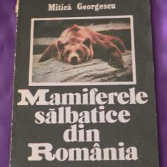 Mamiferele din Romania - Mitica Georgescu (f0236