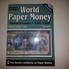 Catalog World Paper Money 1368 - 1960 12th Edition (2008)+ DVD, 1216 pag,