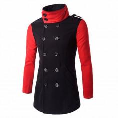 Palton barbatescBlack Red. NEW COLLECTION!!! - Palton barbati, Marime: S, M, XS, Culoare: Din imagine