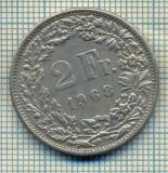 7795 MONEDA- ELVETIA - 2 FRANCS - anul 1968 -starea ce se vede