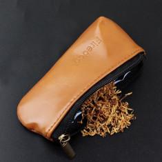 Portofel pentru tutun pipa - din piele ecologica - FIREDOG - Tutungerie