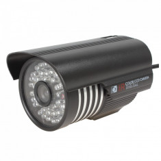Camera supraveghere video lentila 3, 6mm 36 leduri infrarosu CCD - Camera CCTV, Exterior, Cu fir, Color