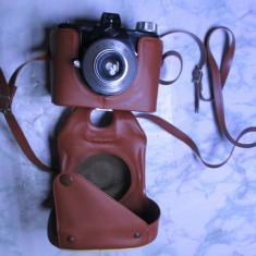 Aparat foto Agfa ClacK vechi de colectie anii 50 functional are si husa - Aparat de Colectie